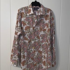 Daniel Cremieux Collection paisley shirt